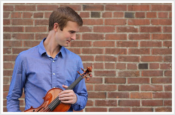 Violinist Alex Granger to Play Floyd Violin Concerto at 2015 Hot Air Festival