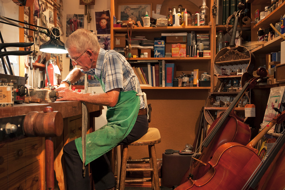 Carving Their Own Niche: Studio City Music handcrafts and repairs violins, violas and cellos — an age-old art that is enjoying a renaissance.