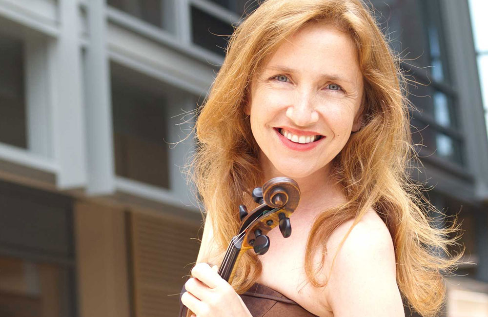 Performing and Recording Artist Aleksandra Maslovaric Acquires Violin From Los Angeles Violinmaker Benning
