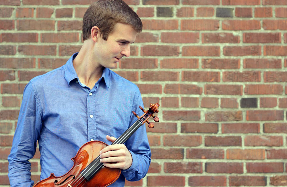 Violinist Alex Granger Premiers Composer Lucas Floyd's Violin Concerto with Violin Crafted by Violinmaker Eric Benning