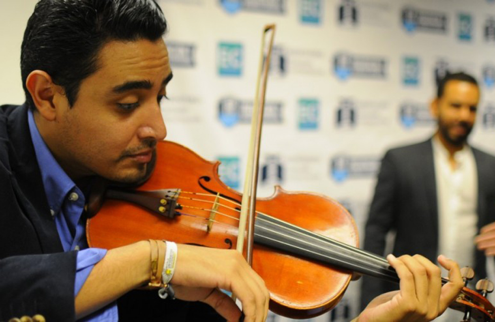Benning Violin Player Performs for the President of Mexico