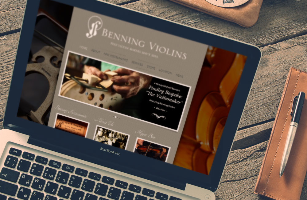Renowned Los Angeles Violin Shop Releases New Web Site
