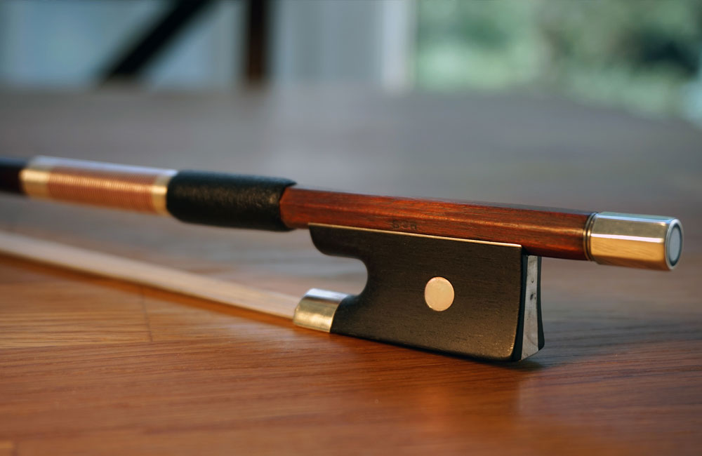Basic Parts of the Violin Bow