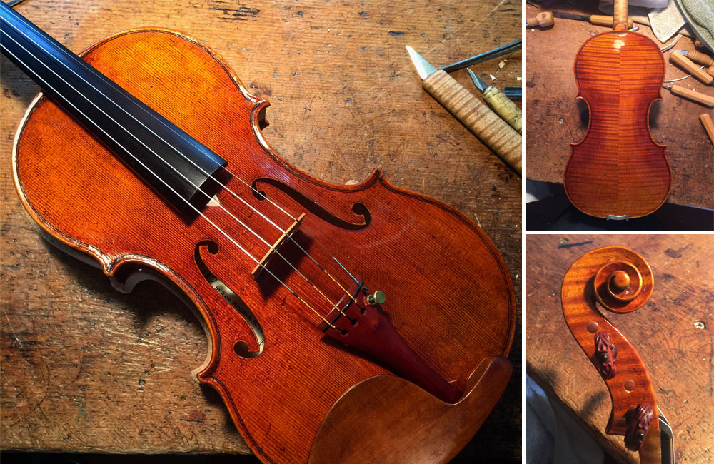 Renowned Violinist Mitchell Newman Acquires an Eric Benning-Crafted Violin