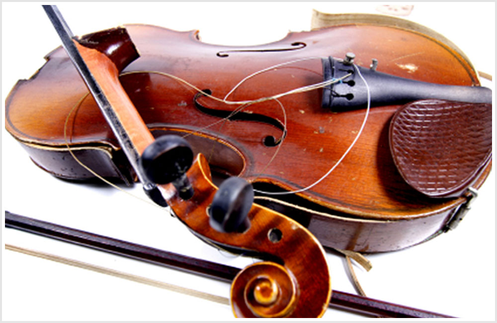 Stringed Instrument Repairs: What is Possible