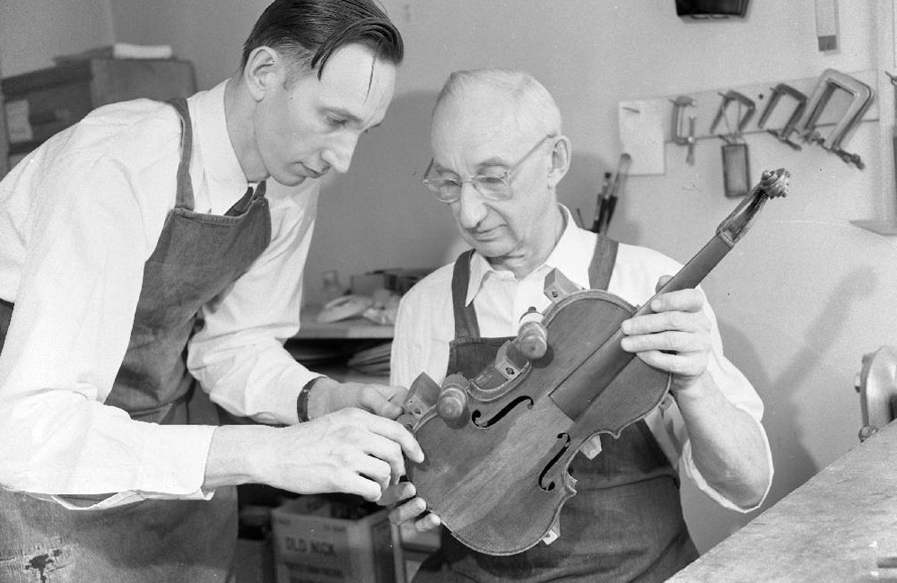 The History of Modern Violinmaking