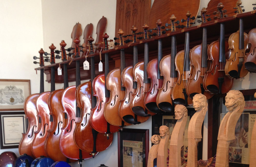 The Varying Sizes of Violins, Violas and Cellos