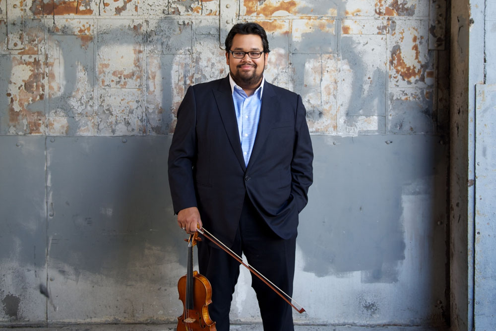 Renowned Violinist Vijay Gupta Acquires an Eric Benning-Crafted Violin
