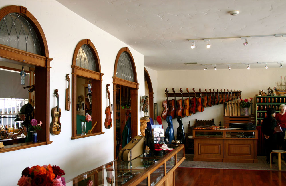 What To Look for When Choosing a Local Violin Shop