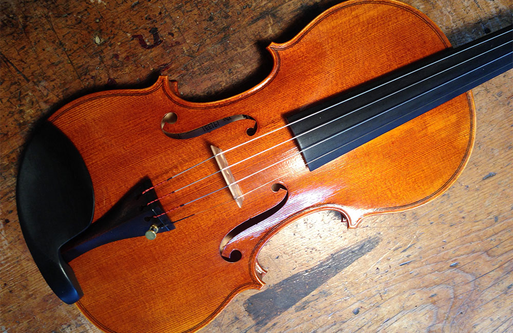 Eric Benning-crafted Stradivarius Model Violin Available in New York City