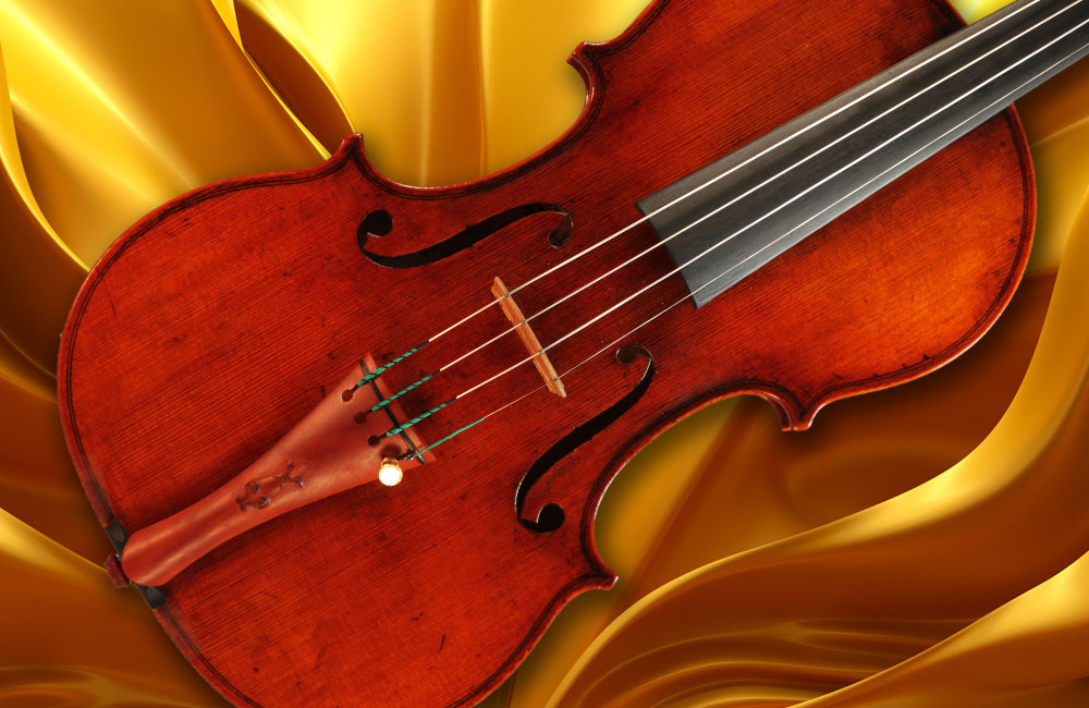 Vincent Houser Acquires a Stradivarius-model Violin Crafted by Violinmaker Eric Benning