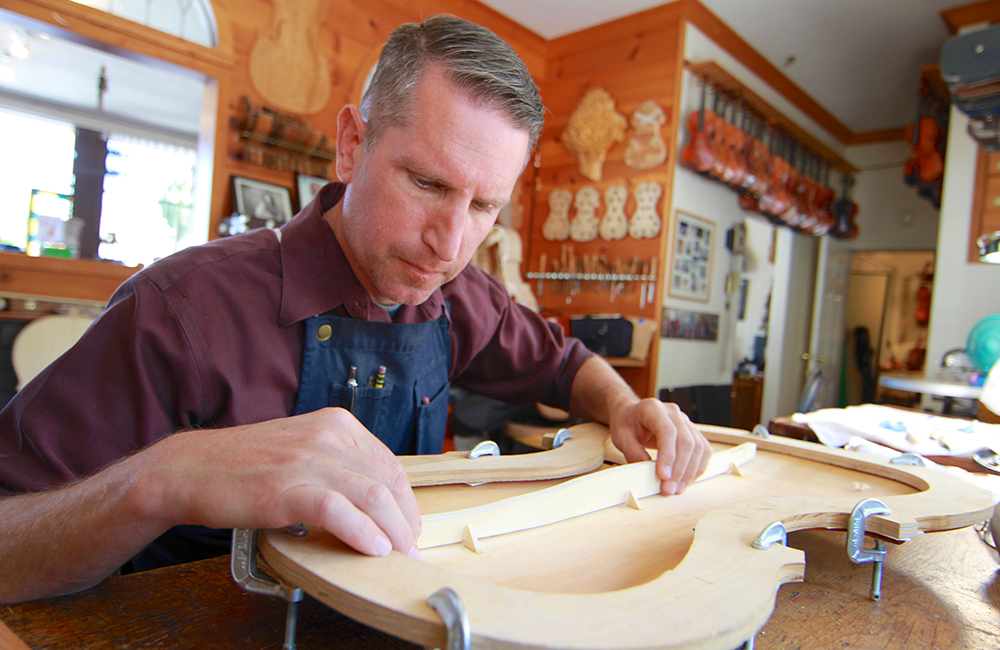 "Eric Benning, Los Angeles-based luthier, is Interviewed by ""Outside the Lines"" Blog"