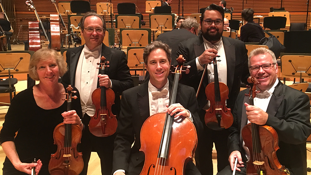 LA Philharmonic Musicians Strike A Pose with Benning-crafted Instruments
