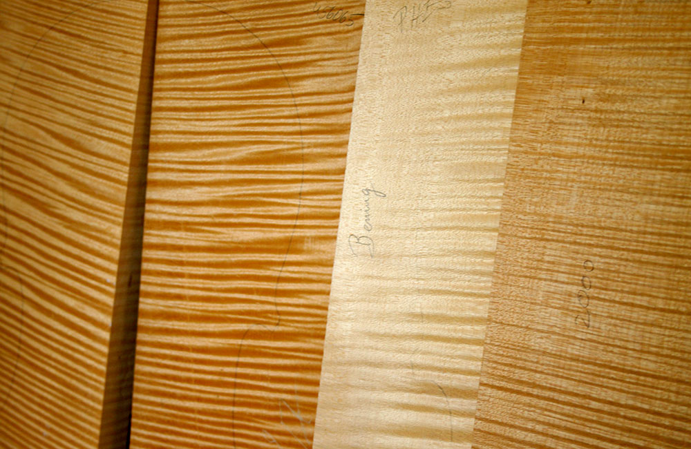 Violinmaking Why Bosnian Maple Wood is King