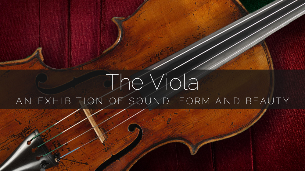 Exhibit of Rare Italian Master-Crafted Violas to Coincide with Primrose Viola Competition in Los Angeles Announced