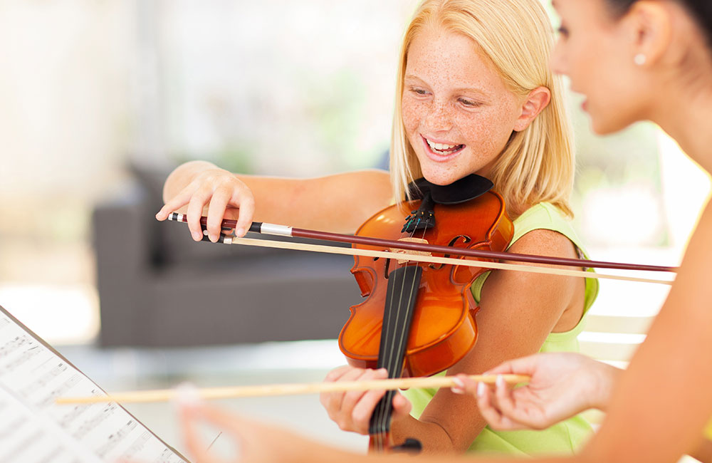 The Benefits to Children Who Learn String Instruments