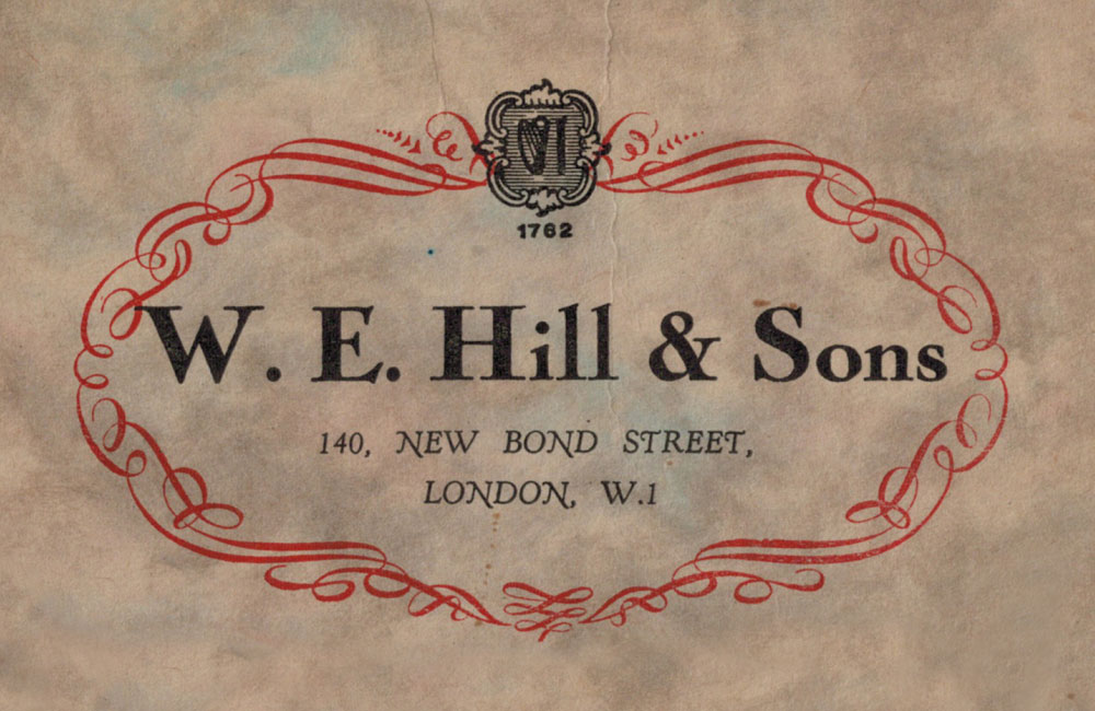 W.E Hill Sons A Legacy of Quality and Vision 2