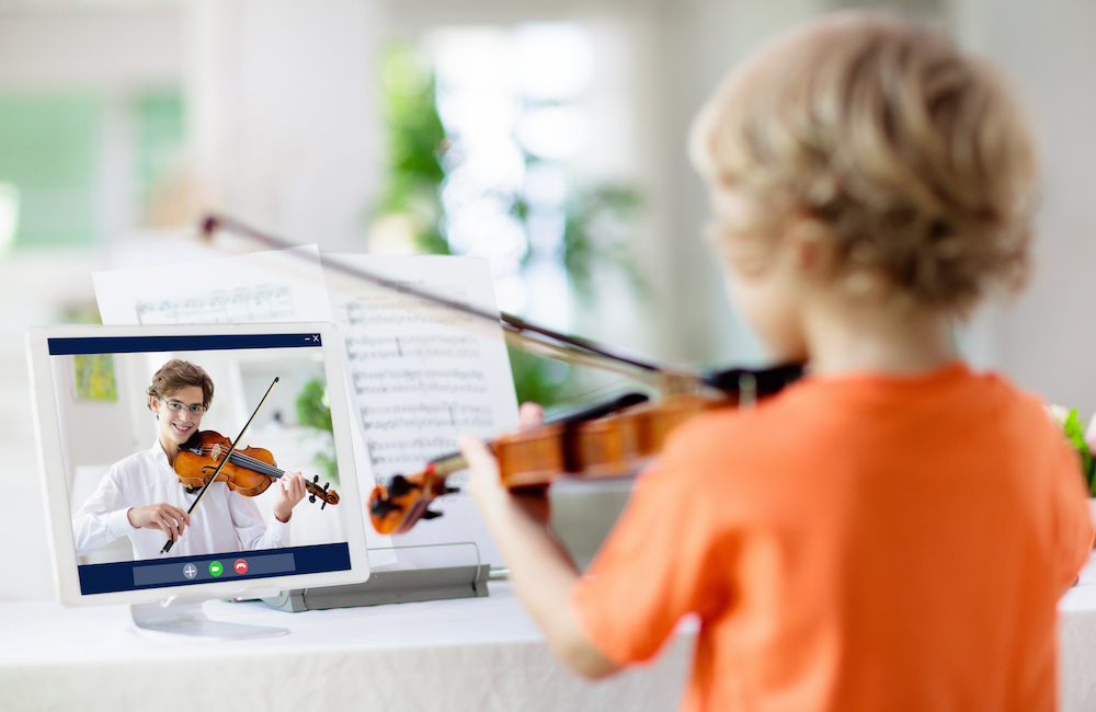 Virtual Violin Lessons in the Age of COVID-19