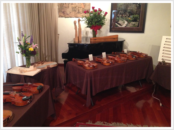 Los Angeles Violin Shop Hosts Viola Exhibit to Coincide with the 2014 Primrose Viola Competition
