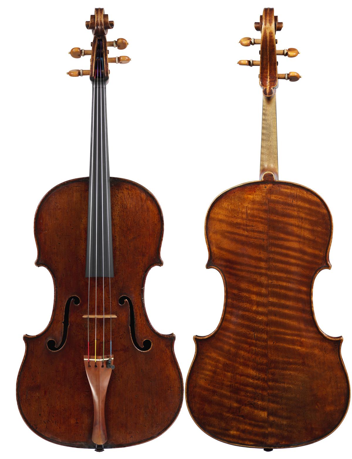 Viola by Antonio & Girolamo Amati