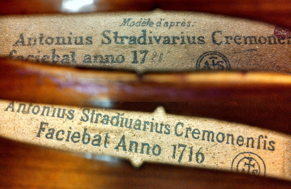The Stradivarius Violin Label What It Means
