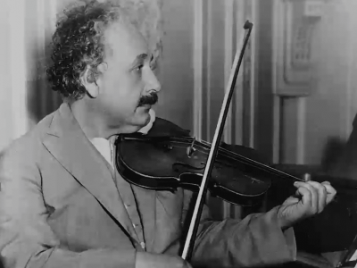 Albert Einstein and the Violin