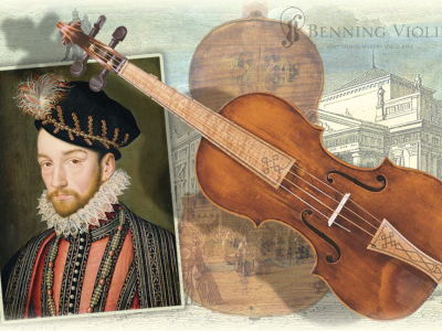 Andrea Amati and the King Charles IX Instrument Collection