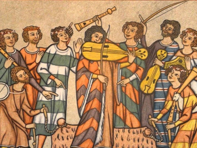 Types of Medieval Stringed Instruments