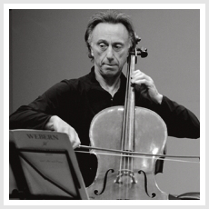 Cellist Ronald Feldman