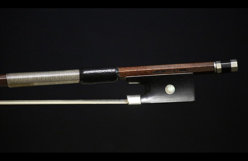 fine violins bows for sale violin bows emile francois ouchard violin bow for sale. Black Bedroom Furniture Sets. Home Design Ideas