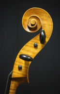 Unknown-Czechoslovakian-Cello-1930-Scroll