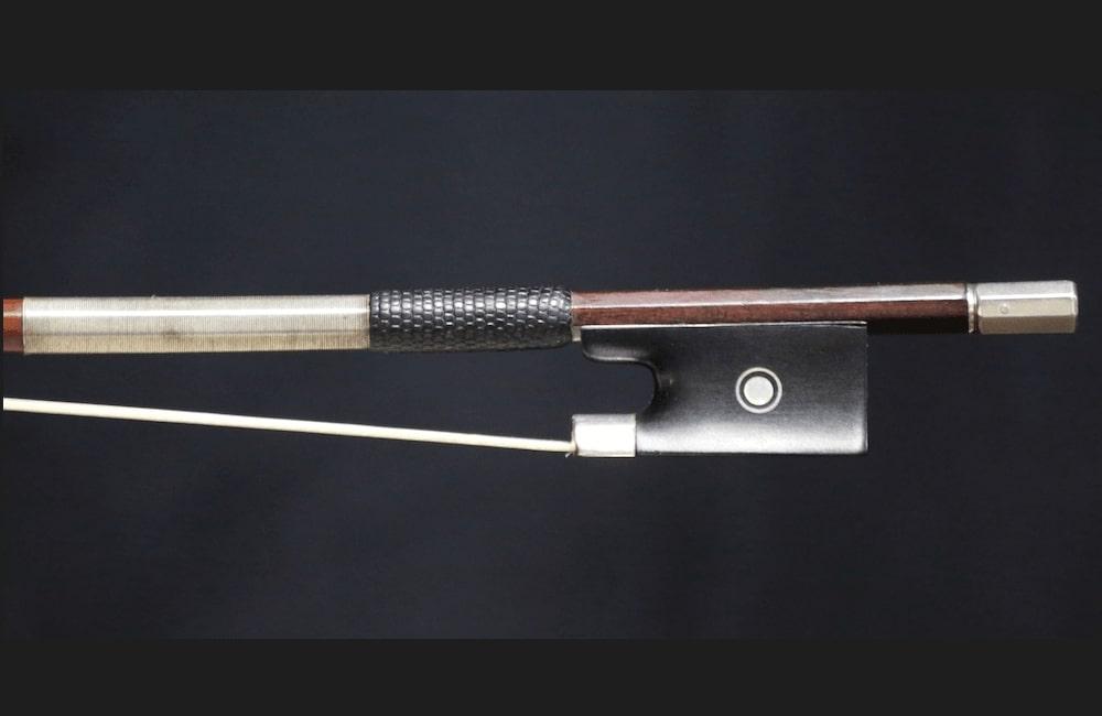 fine violins bows for sale violin bows charles nicholas bazin 1910 violin bow for sale. Black Bedroom Furniture Sets. Home Design Ideas