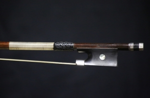 Emile-Auguste-Ouchard-violin-bow-frog-1910