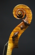 Franciscus-Marie-Pupunatus-Violin-1839-Scroll