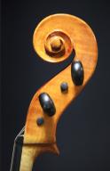 Guido-Maraviglia-1970-Violin-Scroll
