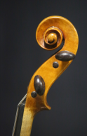 Unknown-French-Violin-1780s-Scroll