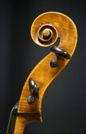 Raffaele-Antonio-Gagliano-Cello-1816-Scroll