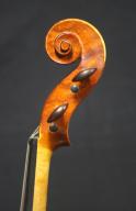 Brian-Benning-Violin-2004-Scroll