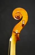 Rowland-Ross-Baroque-Violin-1986-Scroll